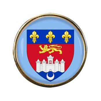 Bordeaux (France) Round Pin Badge