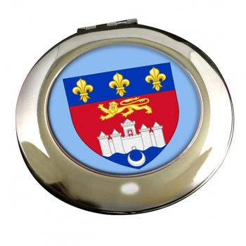 Bordeaux (France) Round Mirror