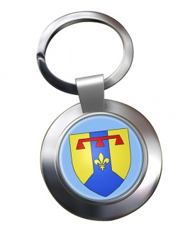 Bouches-du-Rhone (France) Metal Key Ring