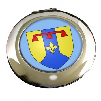 Bouches-du-Rhone (France) Round Mirror