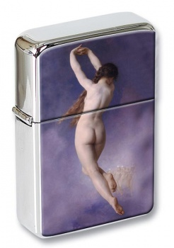 Lost Pleiad by Bouguereau Flip Top Lighter