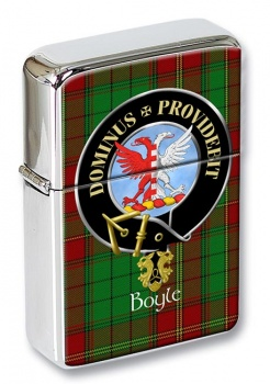 Boyle Scottish Clan Flip Top Lighter