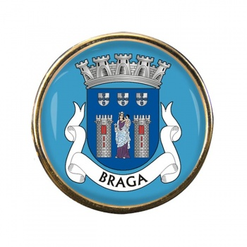Braga (Portugal) Round Pin Badge