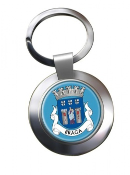 Braga (Portugal) Metal Key Ring