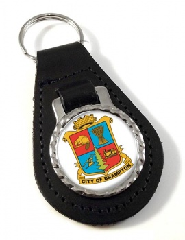 Brampton (Canada) Leather Key Fob