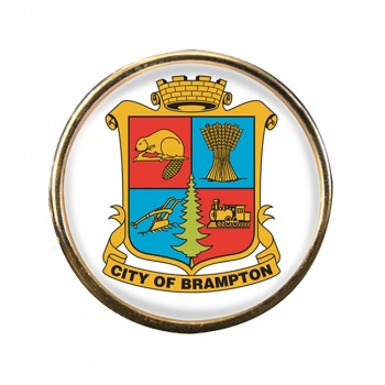 Brampton (Canada) Round Pin Badge