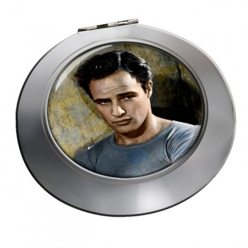 Marlon Brando Chrome Mirror