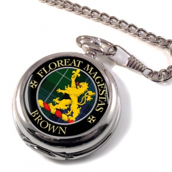 Brown Scottish Clan Pocket Watch