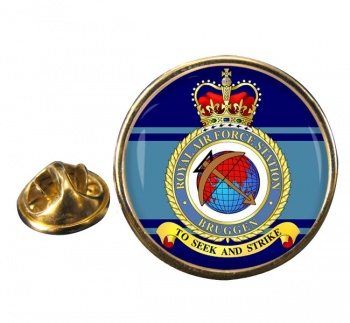 Bruggen Round Pin Badge