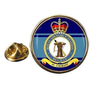 Buchan Round Pin Badge