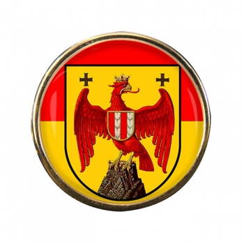 Burgenland Round Pin Badge