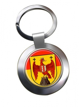 Burgenland Metal Key Ring