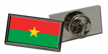 Burkina Faso Flag Pin Badge