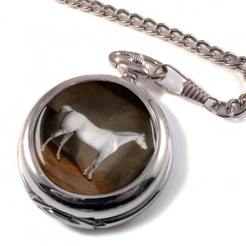 A Grey in a Stable William Burraud Pocket Watch