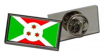 Burundi Flag Pin Badge