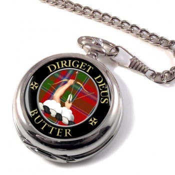 Butter Scottish Clan Pocket Watch
