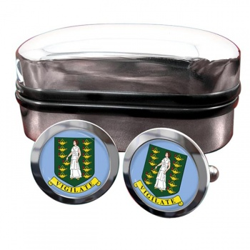British Virgin Islands Crest Cufflinks