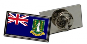 British Virgin Islands Flag Pin Badge