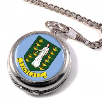 British Virgin Islands Pocket Watch
