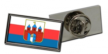 Bydgoszcz (Poland) Flag Pin Badge