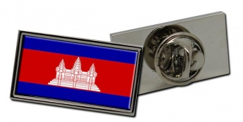 Cambodia  Flag Pin Badge