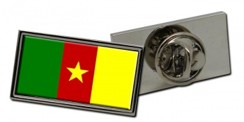 Cameroon Flag Pin Badge