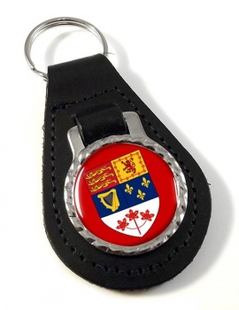 Canada (pre 1965) Leather Key Fob