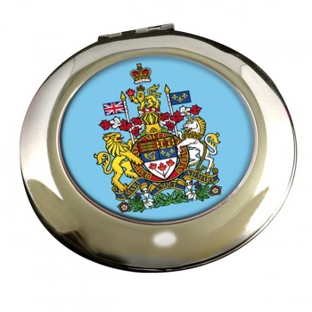 Canada Coat of Arms Round Mirror
