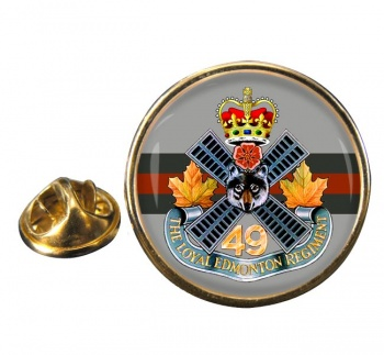 Loyal Edmonton Regiment (4th Battalion Princess Patricia's Canadian Light Infantry) Round Pin Badge