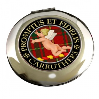 Carruthers Scottish Clan Chrome Mirror