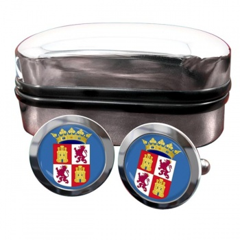 Castile and Leon Castilla y Leon (Spain) Crest Cufflinks