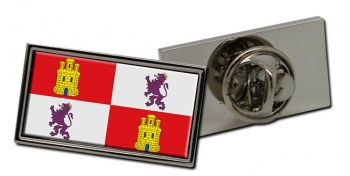 Castile and Leon Castilla y Leon (Spain) Flag Pin Badge