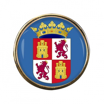 Castile and Leon Castilla y Leon (Spain) Round Pin Badge