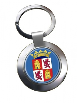 Castile and Leon Castilla y Leon (Spain) Metal Key Ring
