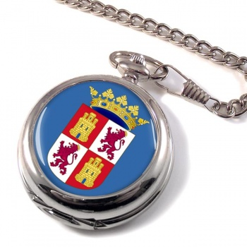 Castile and Leo�n Castilla y Leo�n (Spain) Pocket Watch