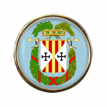 Provincia di Catanzaro (Italy) Round Pin Badge