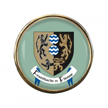 County Cavan (Ireland) Round Pin Badge
