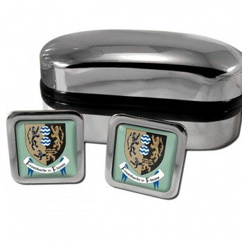 County Cavan Ireland Square Cufflinks