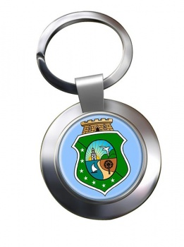 Ceara (Brasil) Metal Key Ring