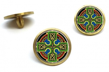 Celtic Cross Golf Ball Marker Set