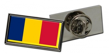 Chad Tchad Flag Pin Badge