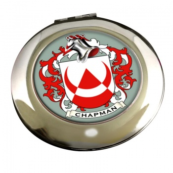 Chapman Coat of Arms Chrome Mirror