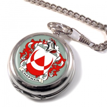 Chapman Coat of Arms Pocket Watch