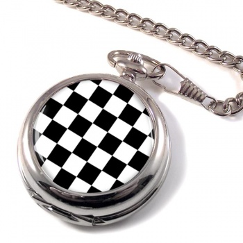 Chequered (Checkered) Floor of King Solomon's Temple Pocket Watch