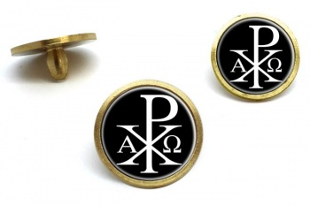Chi-Rho Alpha Omega  Golf Ball Markers