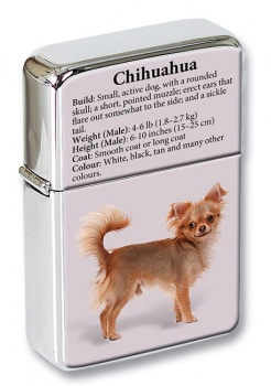 Chihuahua Dog Flip Top Lighter