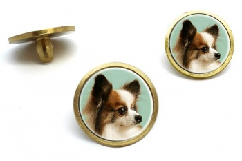 Japanese Chin  Golf Ball Marker Set
