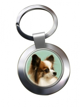 Japanese Chin Metal Key Ring