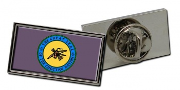 Choctaw Nation (Tribe) Flag Pin Badge