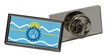 Argentine Chubut Flag Pin Badge